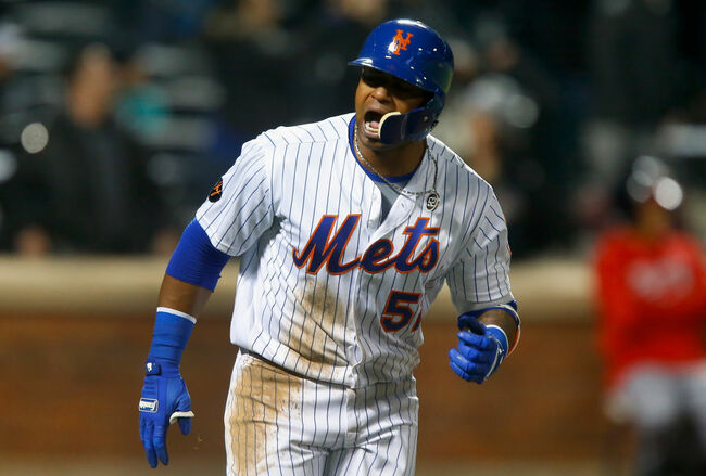 NY Mets - Yoenis Cespedes (Getty)