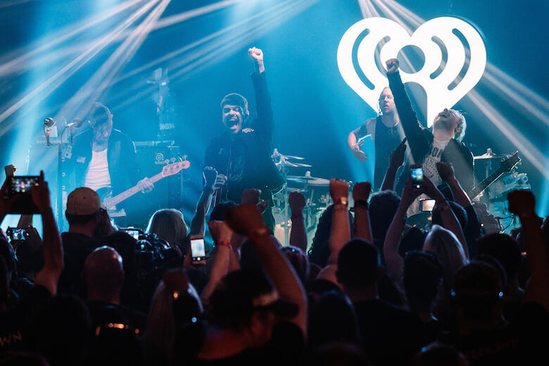 Shinedown performs during iHeartRadio Album Release Party