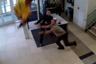 Handcuffed Man Jumps Off Balcony In Attempt To Escape Court