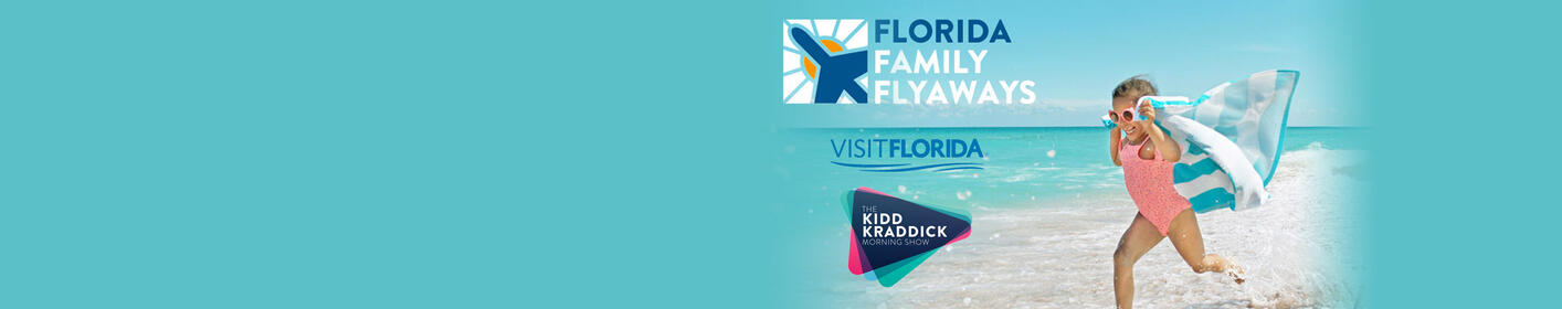 Each week we'll be giving away trips to different destinations all over Florida.