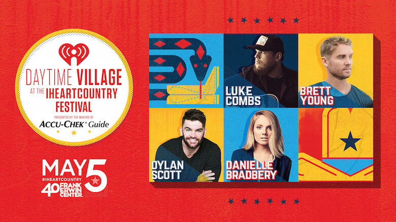 Luke Combs & More To Perform at iHeartCountry Festival Daytime Village