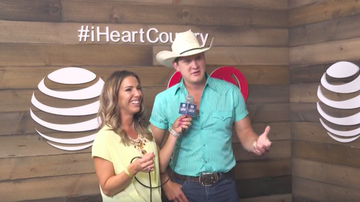 iHeartCountry Festival - Jon Pardi Sings Cardi B In The Shower