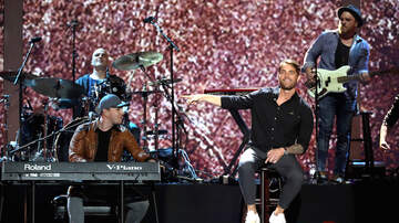 iHeartCountry Festival - Brett Young & Gavin DeGraw Perform Soldier & Dedicate to US Military