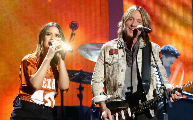 Maren Morris & Keith Urban perform live at the iHeartCountry Festival
