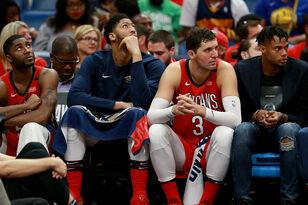 Pelicans On Brink Of Elimination