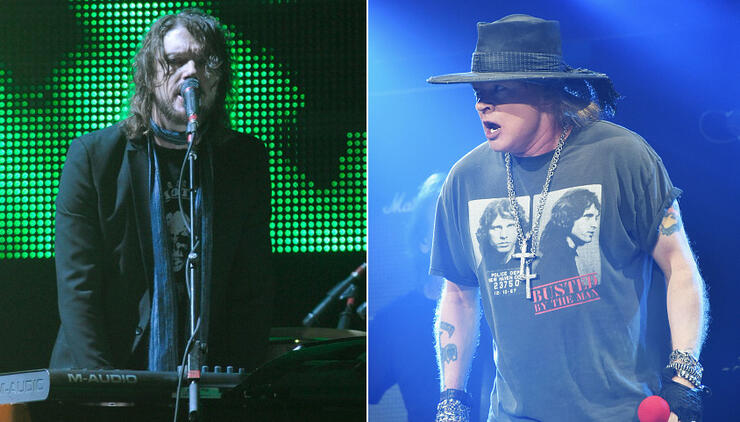Dizzy Reed Says Nobody Works Harder Than Axl Rose