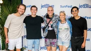 SunFest Meet and Greet - Sir Sly Meet & Greet - SunFest 2018