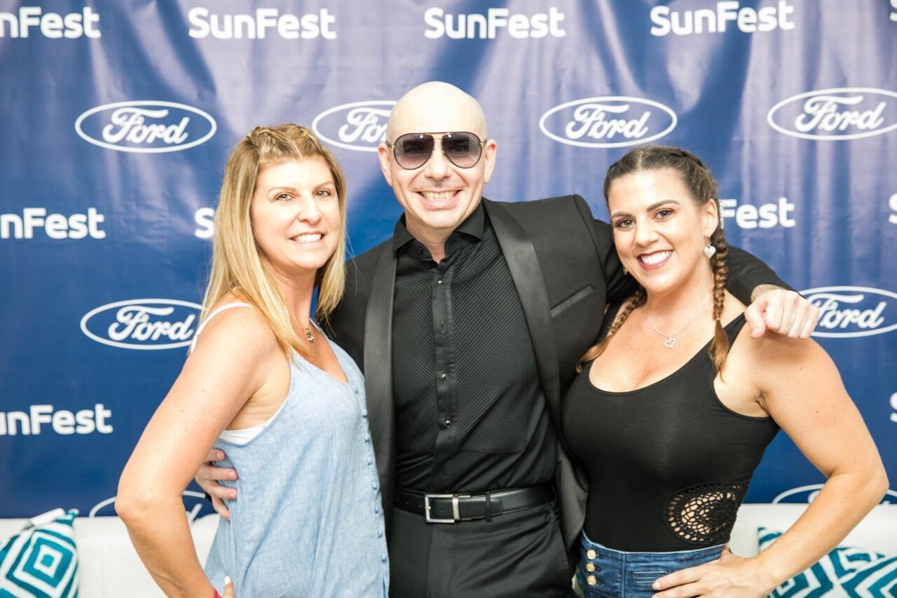 Pitbull Meet Greet Sunfest 2018 Wild 955