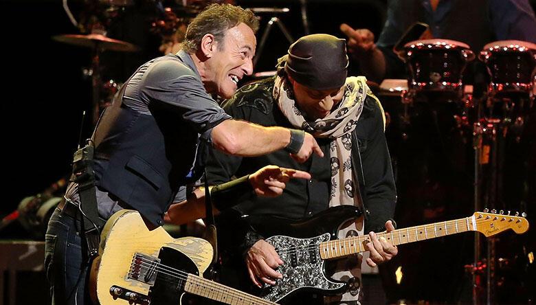 "Watch Bruce Springsteen Roast ""Little"" Steven Van Zandt at NJ Hall of Fame"