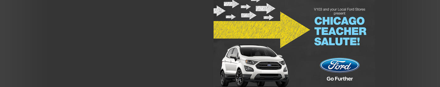 Nominate your favorite Educator for their chance to win a Ford EcoSport!