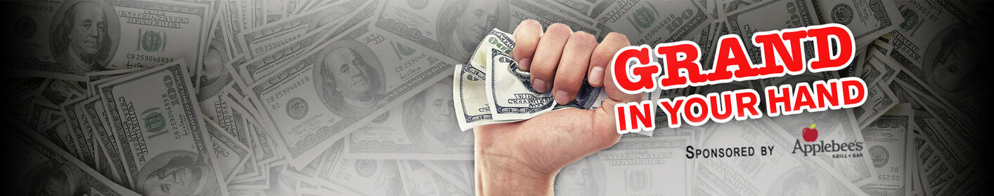 Your chance to win $1,000! 16 times per weekday, 6am - 9pm on 970 WFLA