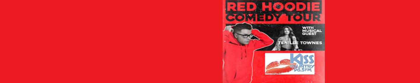 Kiss Country Welcomes The Red Hoodie Comedy Tour With Bobby Bones to Riverside Casino!