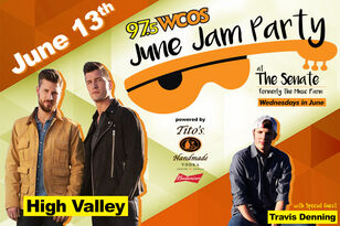 June Jam Party June 13th with High Valley