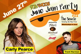 June Jam Party June 27th with Carly Pearce
