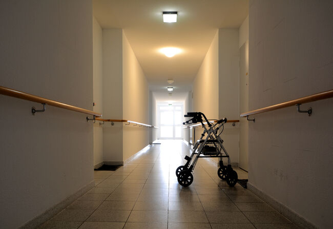 Empty Nursing home Getty