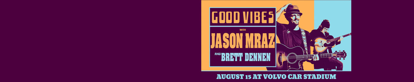 See Jason Mraz on the Good Vibes Tour!