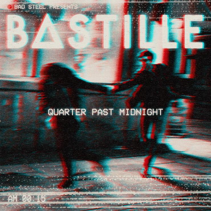 "Bastille - ""Quarter Past Midnight"" Cover Art"