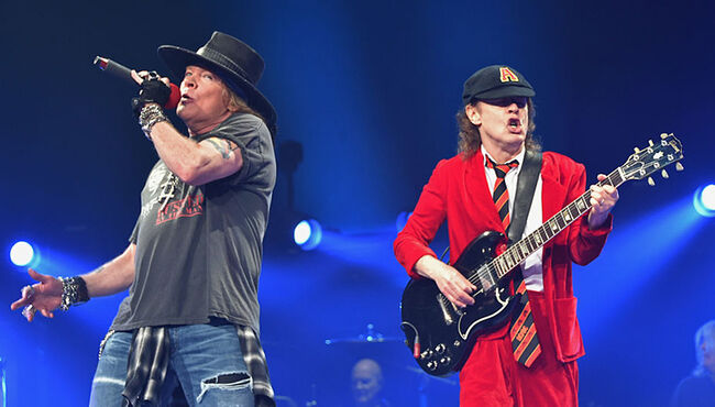 Guns N' Roses Manager Shares Photo of AC/DC Document