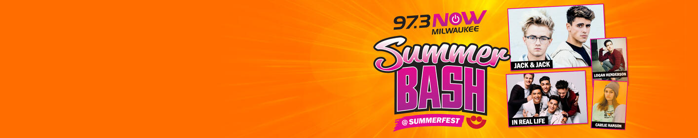 97-3 NOW SummerBash @ Summerfest w/ Jack & Jack, In Real Life & more on 6/30!