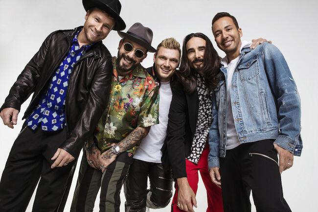 Backstreet Boys added to 2018 iHeartRadio Wango Tango Lineup