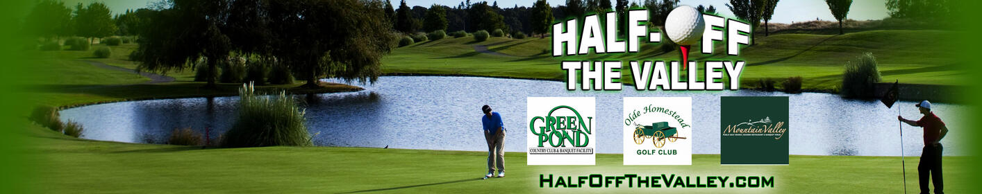 GOLF FOR HALF PRICE! Deals available while supplies last!