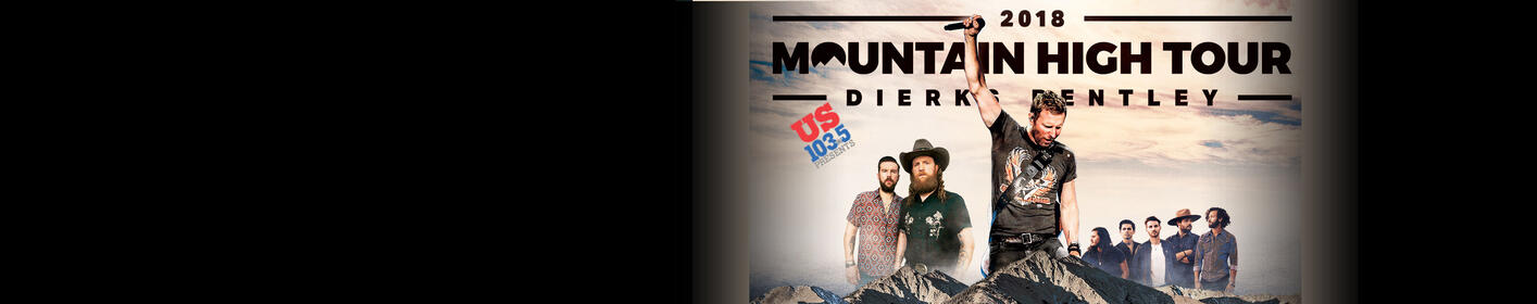 Listen this weekend for your chance to win tickets to see Dierks Bentley!