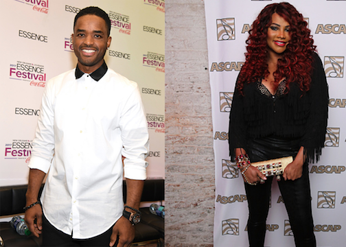 Larenz Tate & Pepa of Salt-N-Pepa - Getty Images