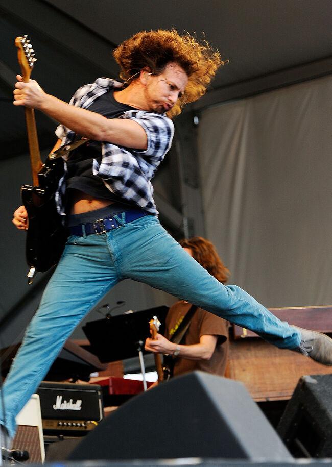 Eddie Vedder, 2010 New Orleans, Getty Images