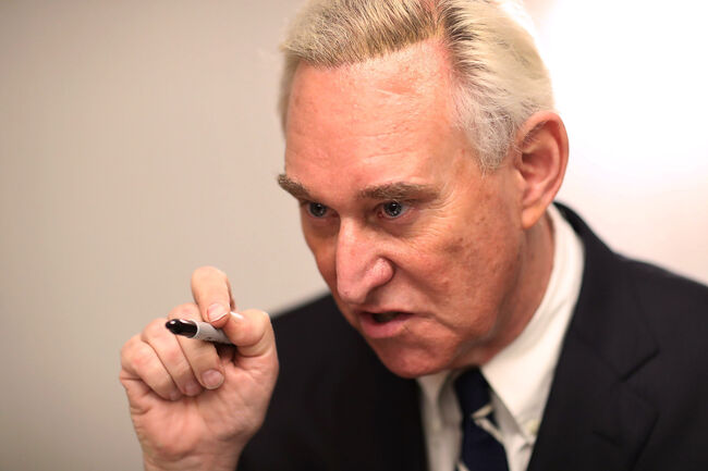 Roger Stone - Getty Images