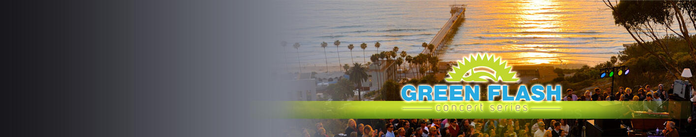 Join KGB at the Green Flash Concert Series Where The Sunset Always Rocks!
