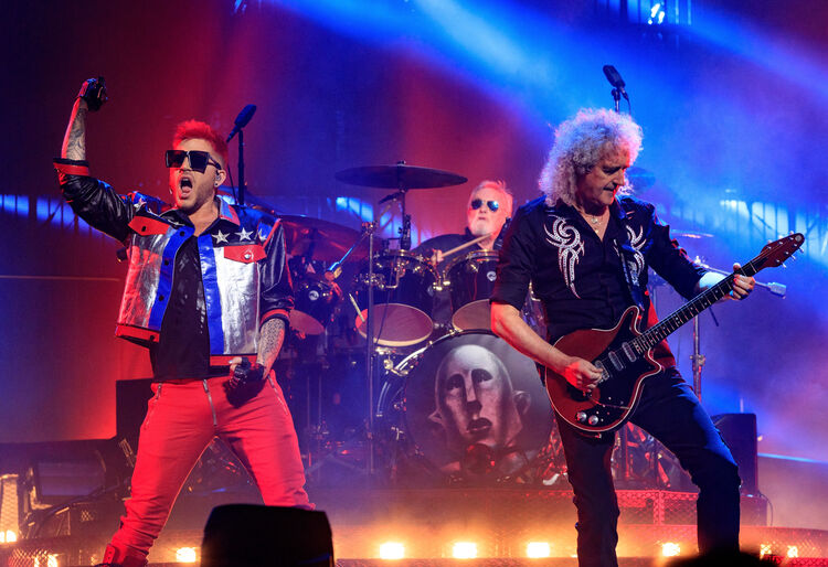 Queen + Adam Lambert, 2017, Getty Images