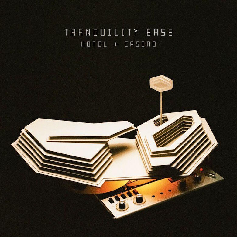 Arctic Monkeys - 'Tranquility Base Hotel + Casino' Album Cover Art