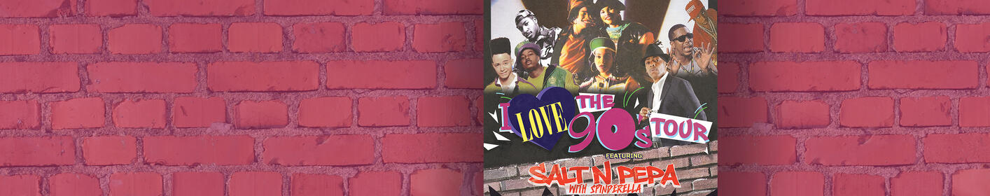 Win Tickets! I Love the 90s Tour coming to The Wharf Amphitheater