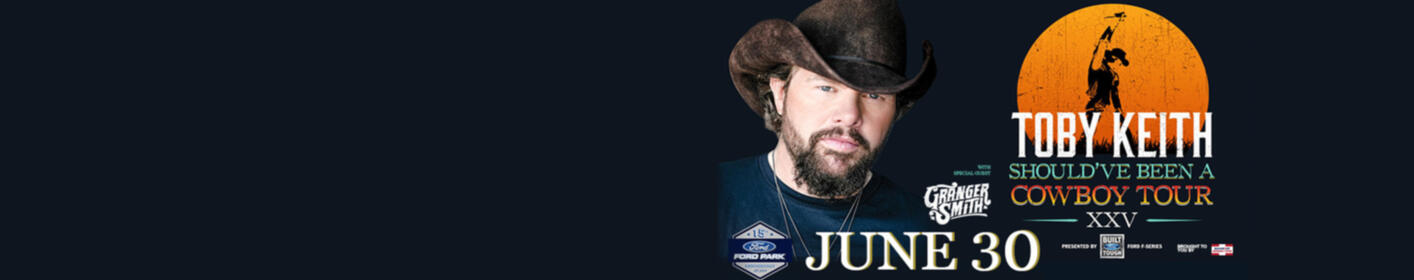 Listen To Win Tix! Sign Up To Win Tix, Pit Passes Plus Picture With Toby Keith Here!