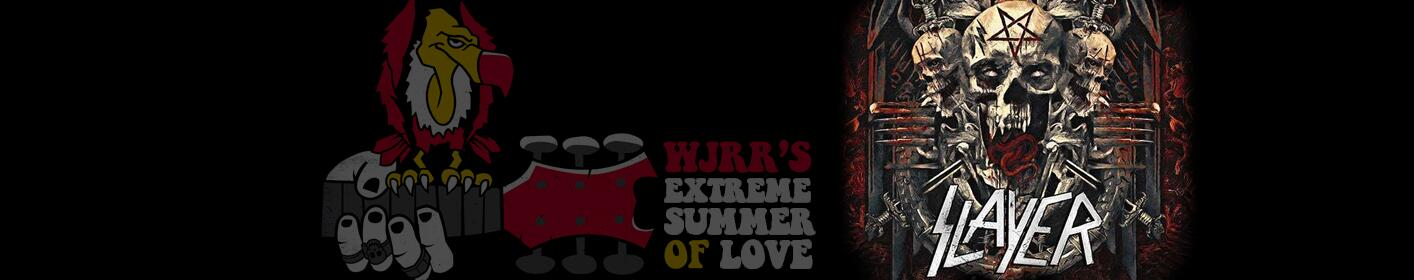WJRR Extreme Summer of Love presents Slayer, Anthrax, Lamb of God and more June 15th at Central Florida Fairgrounds