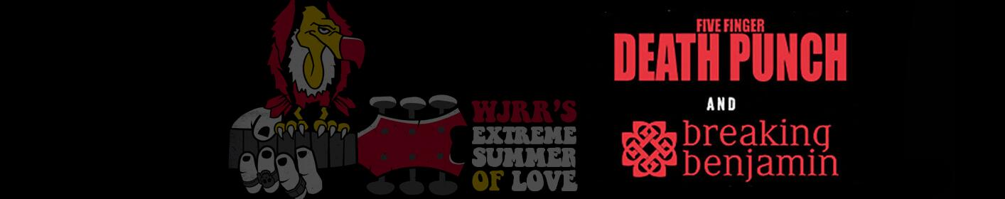 Presented by WJRR's Extreme Summer of Love August 11th at the Amp in Tampa