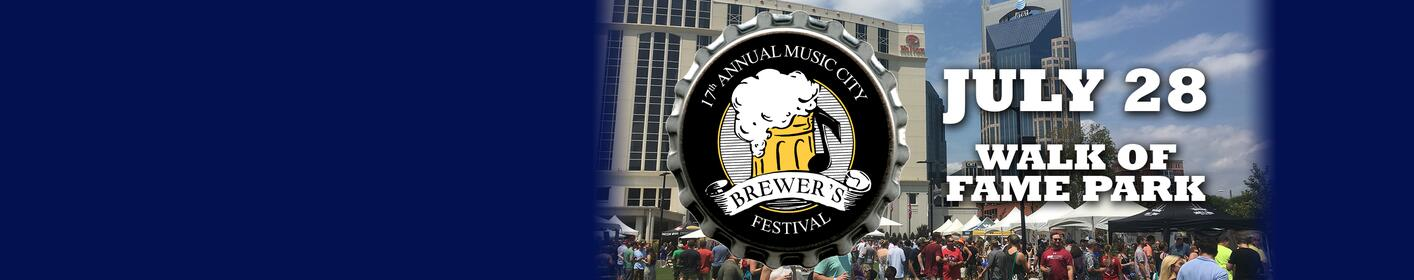 Win tickets to the 17th Annual Music City Brewer's Festival!