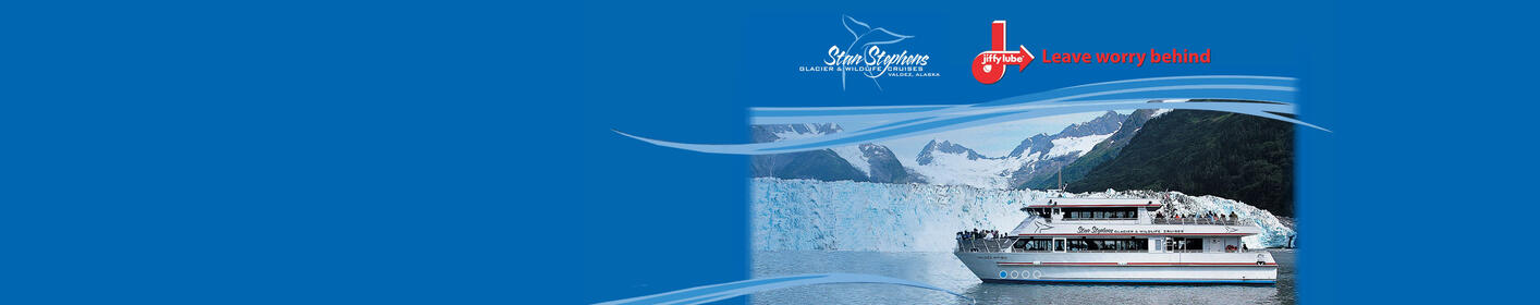 Enter for a Chance to WIN a Stan Stephens Glacier Cruise for 2 >
