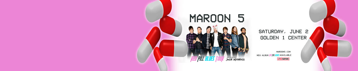 Win Tickets To See Maroon 5 On Their Red Pill Blues Tour!