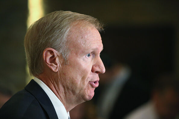 Illinois Governor Bruce Rauner (GETTY IMAGES)