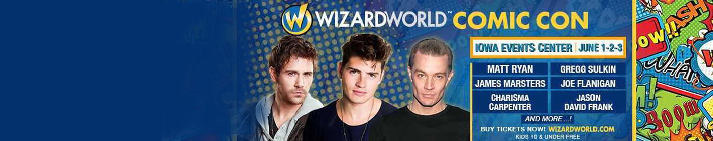 Win a VIP Weekend at Wizard World Comic Con!