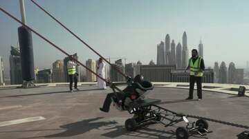 Mike Porcaro - Dubai slingshot gone wrong......