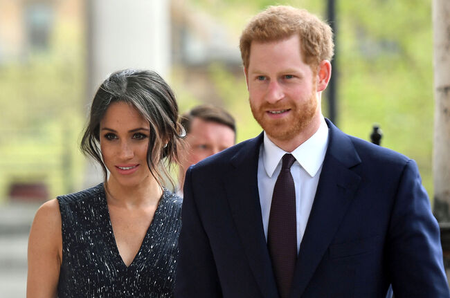 Prince Harry and Meghan Markle \\ Getty Images