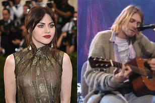 Kurt Cobain's MTV Guitar Goes to Frances Bean's Ex in Divorce