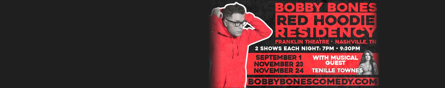 Win tickets to Bobby Bones' Red Hoodie Residency in Nashville!