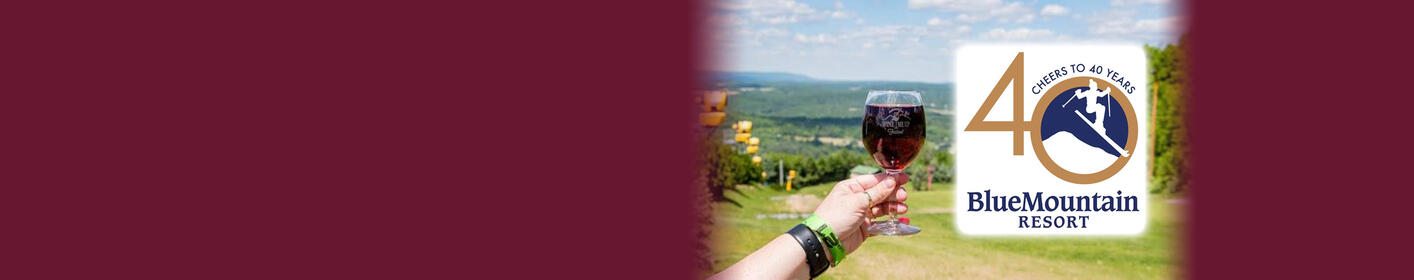 WIN TICKETS! 'Wine Me Up! Wine & Tapas Festival' at Blue Mountain Resort - June 2nd & 3rd!