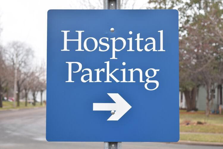 Hospital Parking Getty RF