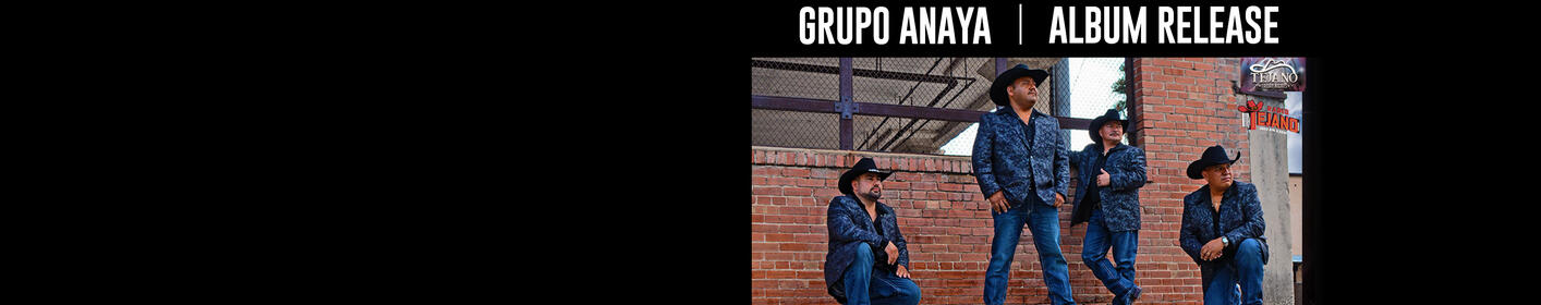 Win Tickets to Grupo Anaya Album Release Party