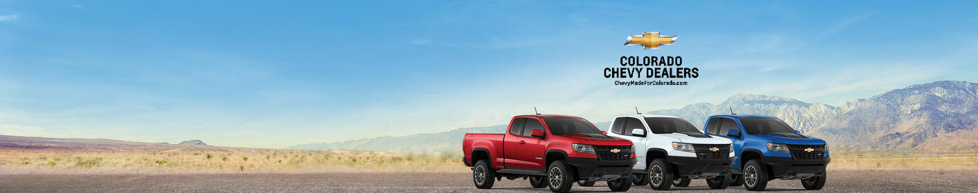 Win a Red, White or BULL Chevy Colorado
