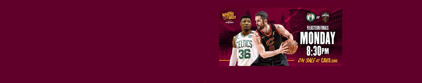 Purchase Tickets to the Eastern Conference Finals at Quicken Loans Arena!